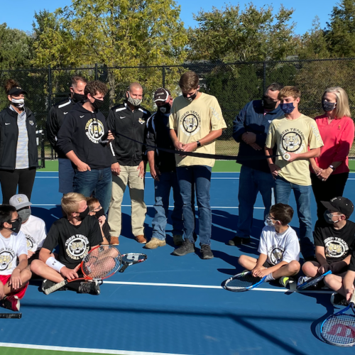 LCSC Celebrates Opening of New Tennis Facilities